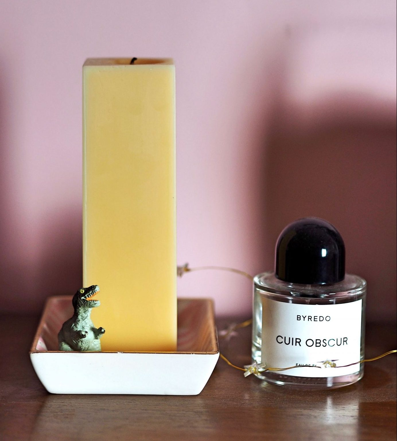 Ten Podcasts For Freelance Creatives rodin candle and byredo fragrance