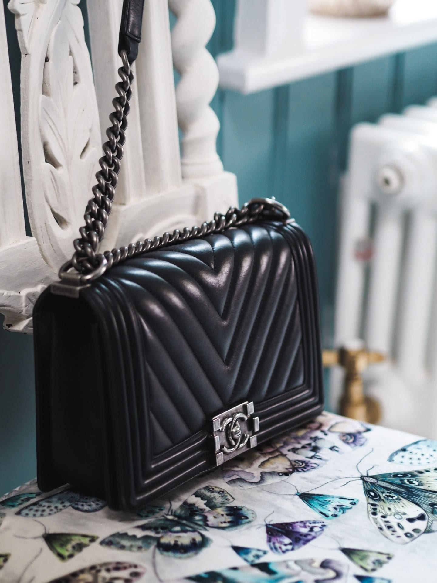chanel boy bag review what you need to know price authenticity how to authenticate black chevron leather lambskin caviar leather handbag bag