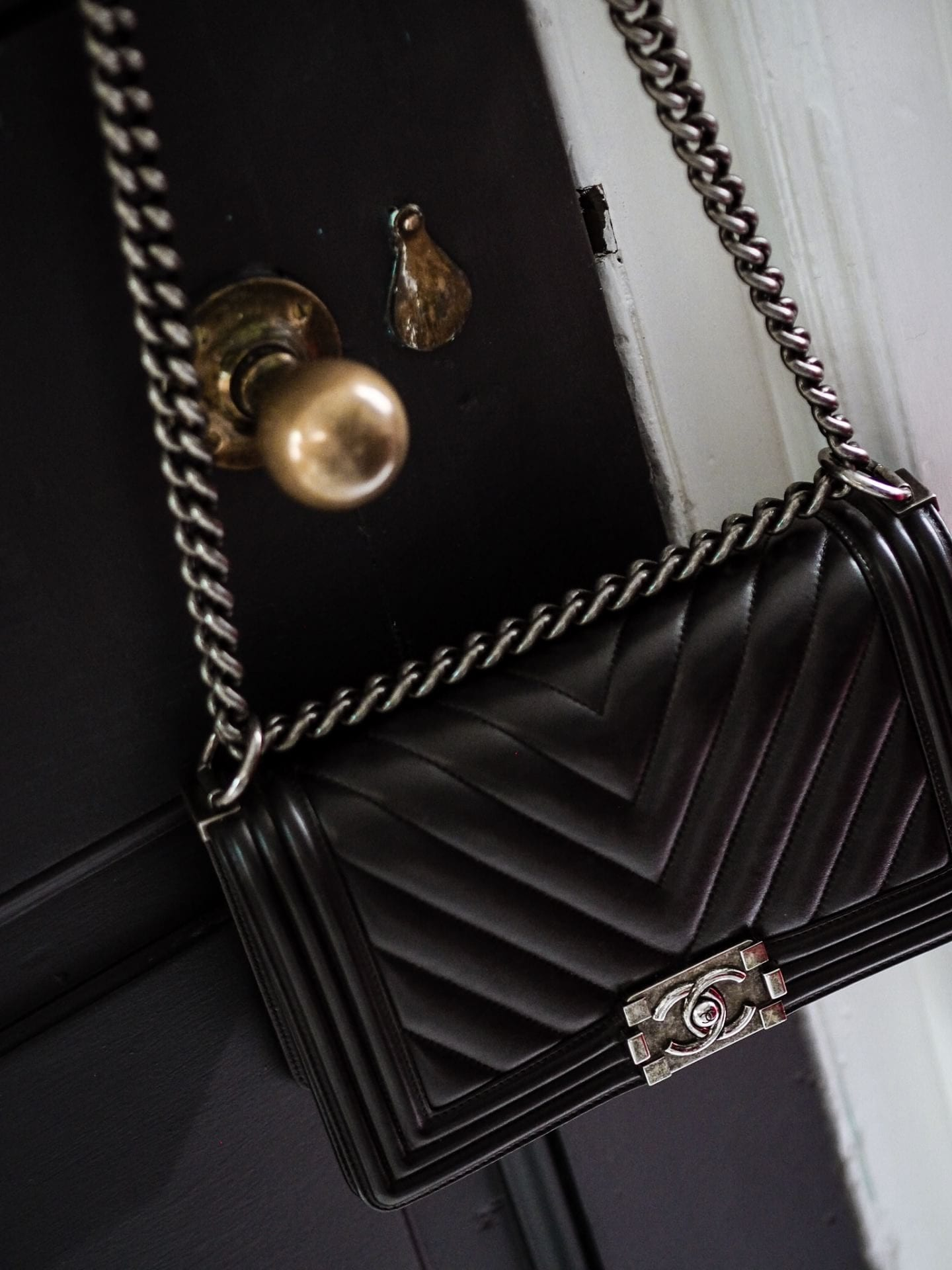 chanel boy bag review what you need to know price authenticity how to authenticate black chevron leather lambskin review designer bag