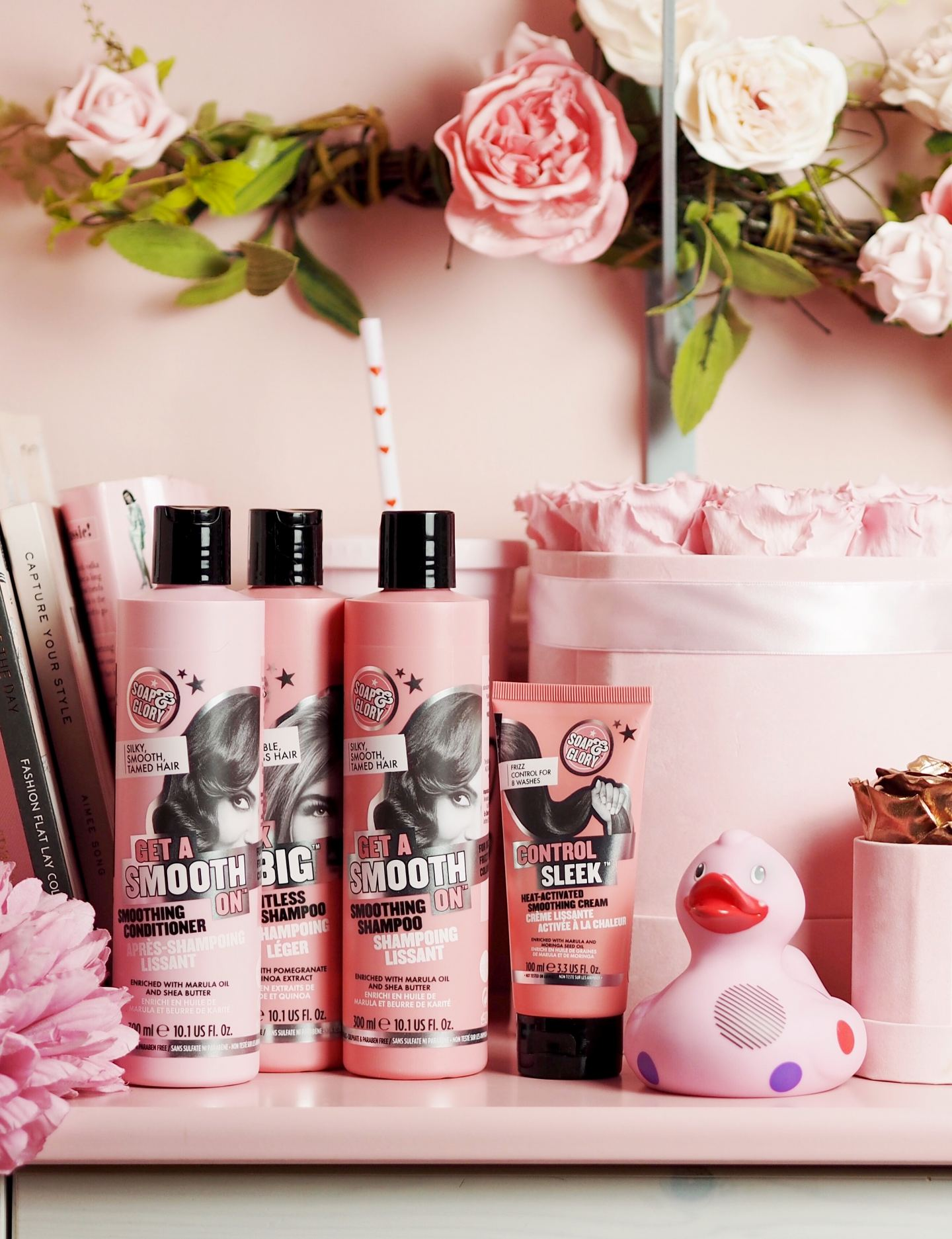 soap and glory hair care