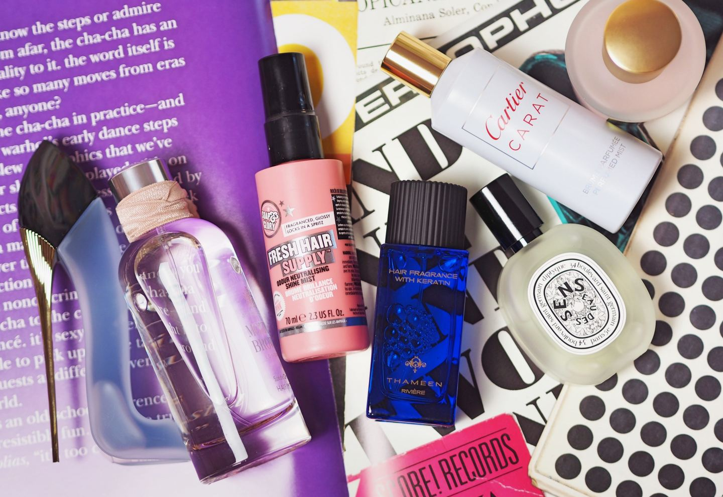 the best hair mists