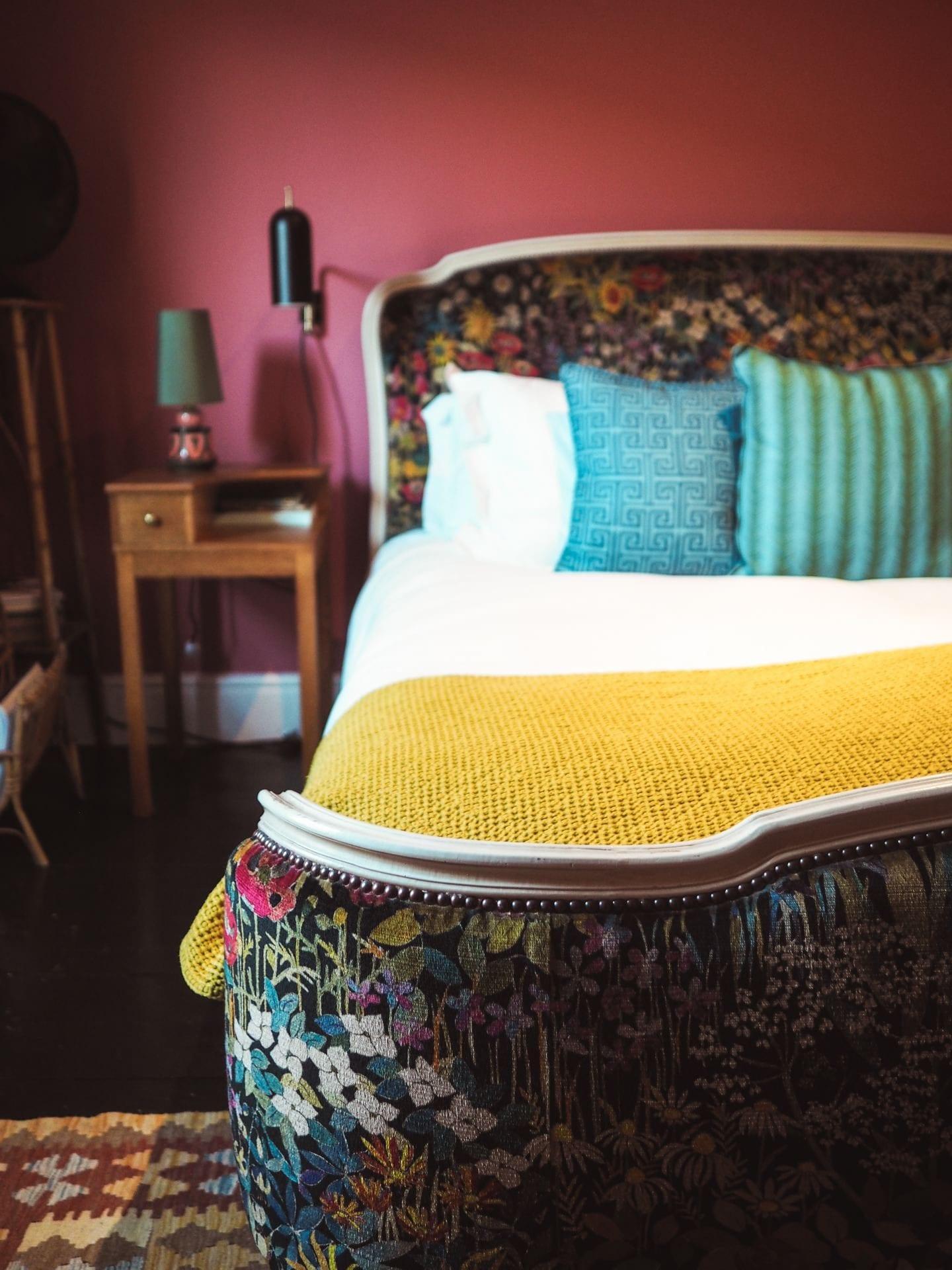the rose deal kent decor interior design floral uphostered bed