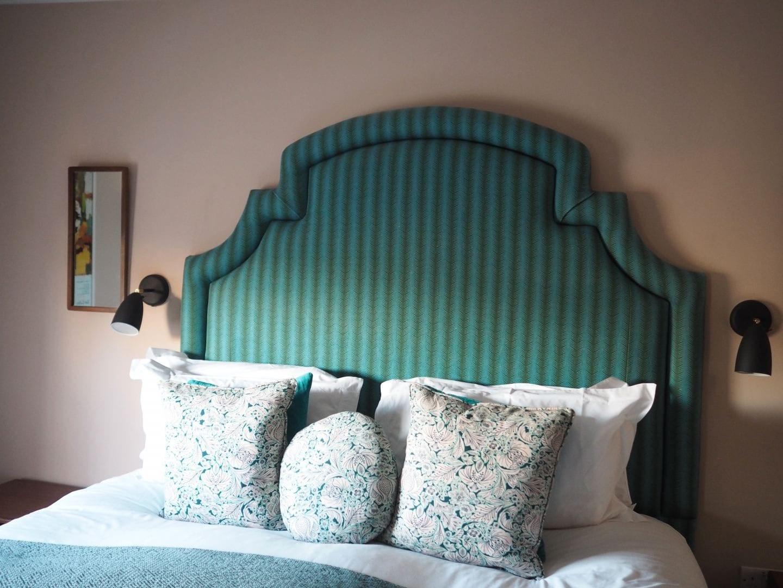 the rose deal kent decor interior design green headboard vintage rooms