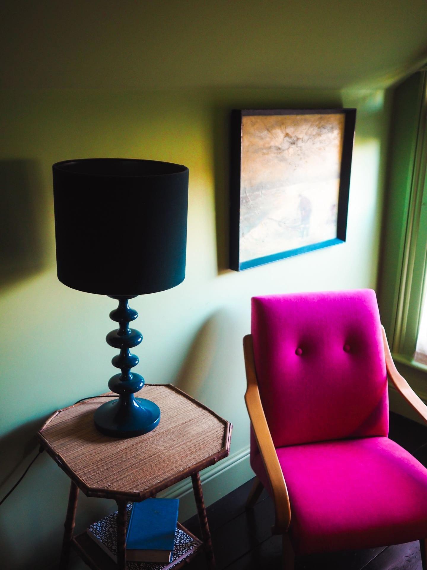 the rose deal kent decor interior design pink chair