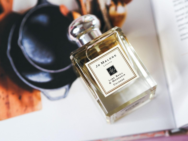 Jo Malone London 'Lime Basil Mandarin' perfume fragrance review summer 2019 50ml bottle