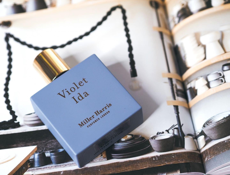 Miller Harris 'Violet Ida' perfume review brighton rocks