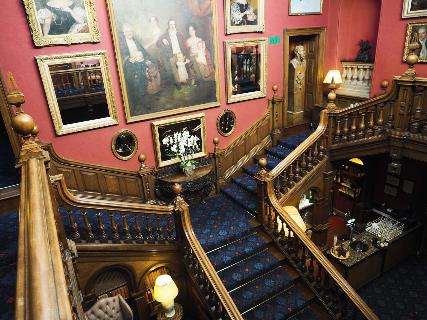 Chilston Park Hotel, Kent Staircase