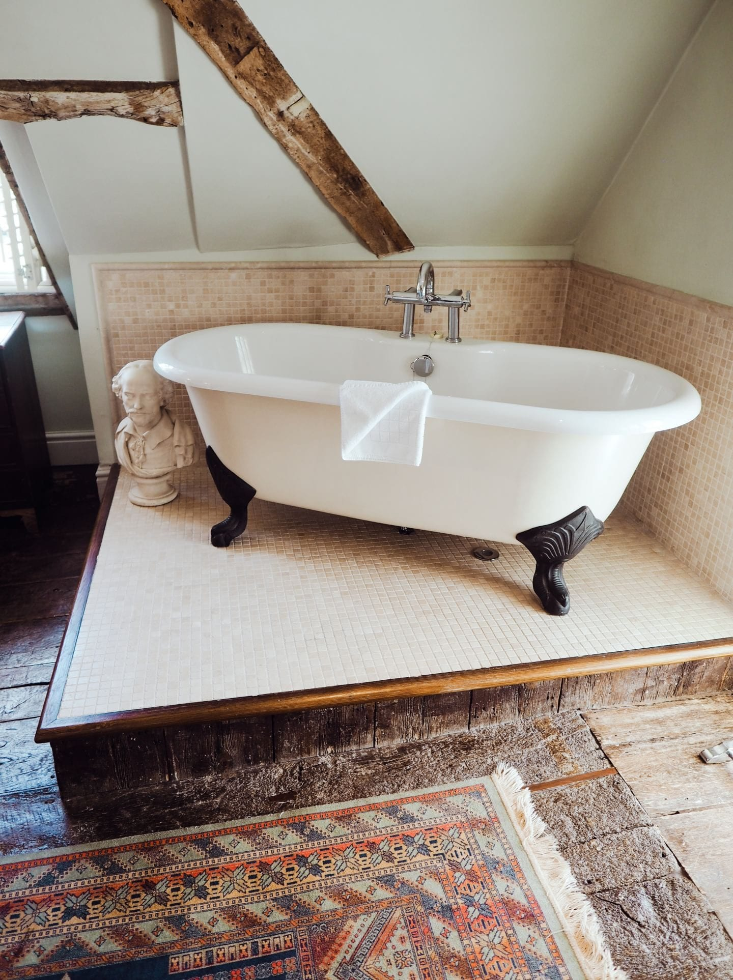 Chilston Park Hotel, Kent bathroom