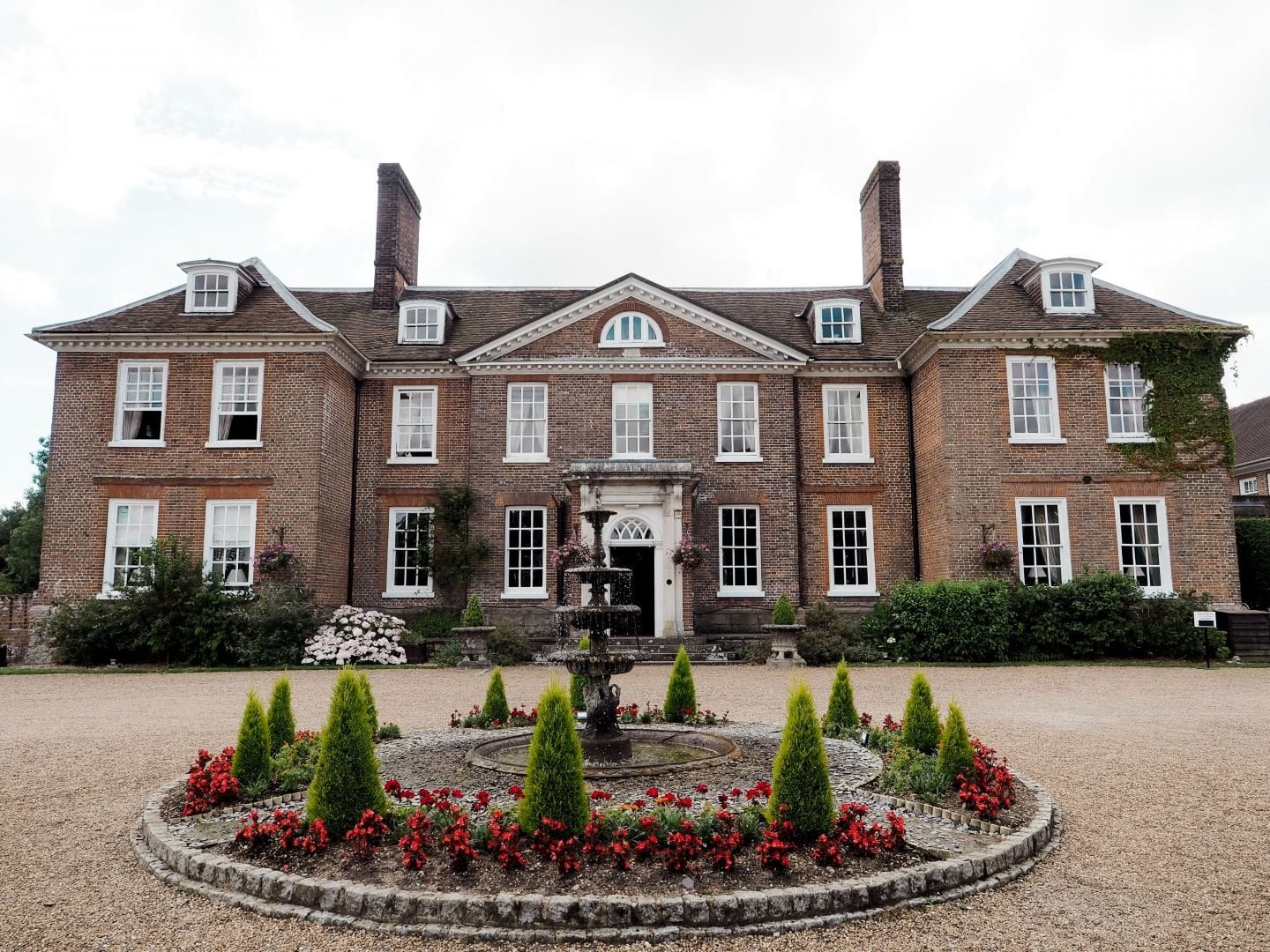 Chilston Park Hotel, Kent front building wedding venue