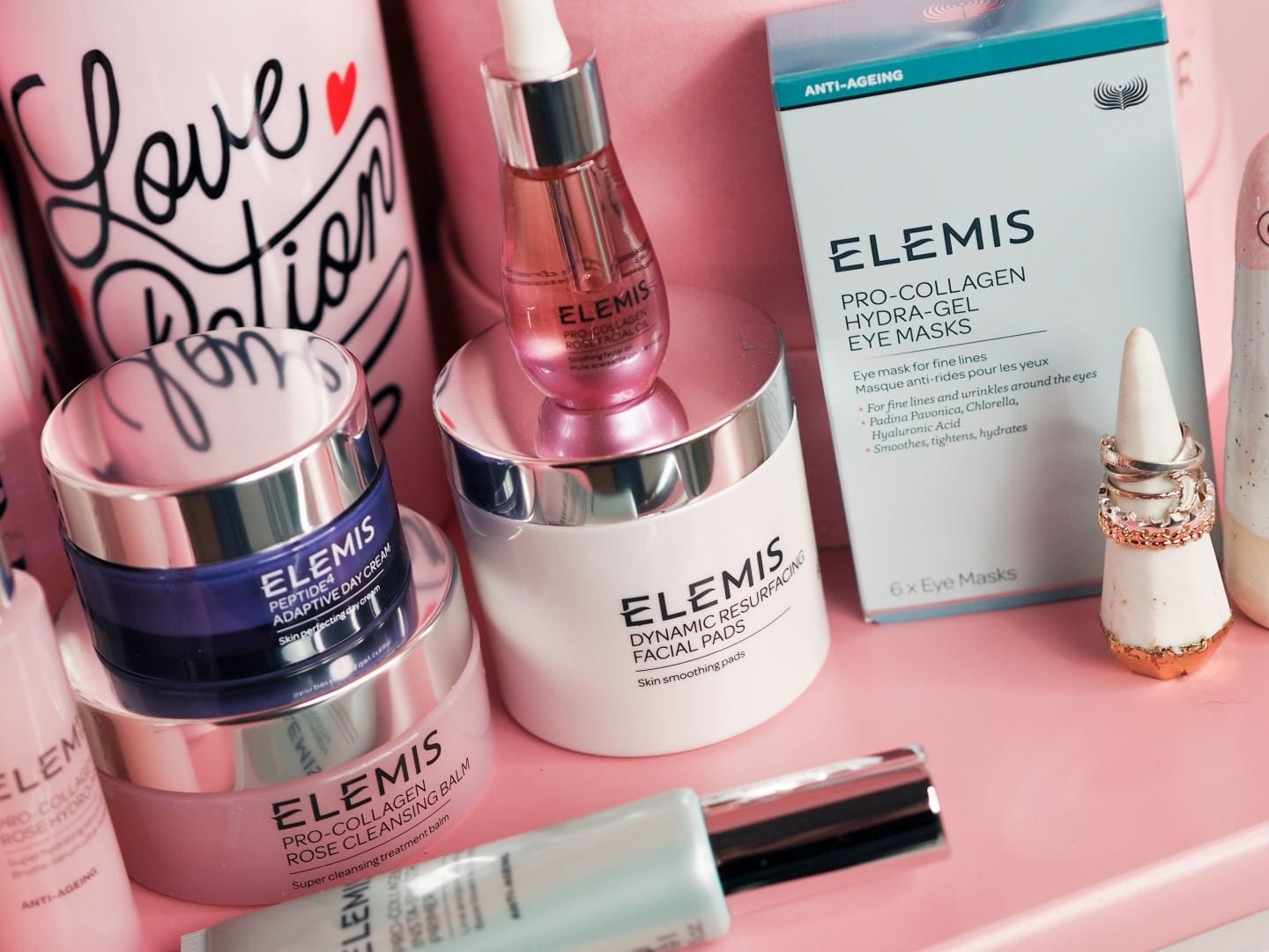 Katie Jane Hughes' Shares Her Top Tips For Creating Perfectly Glossy Skin elemis rose facial mist