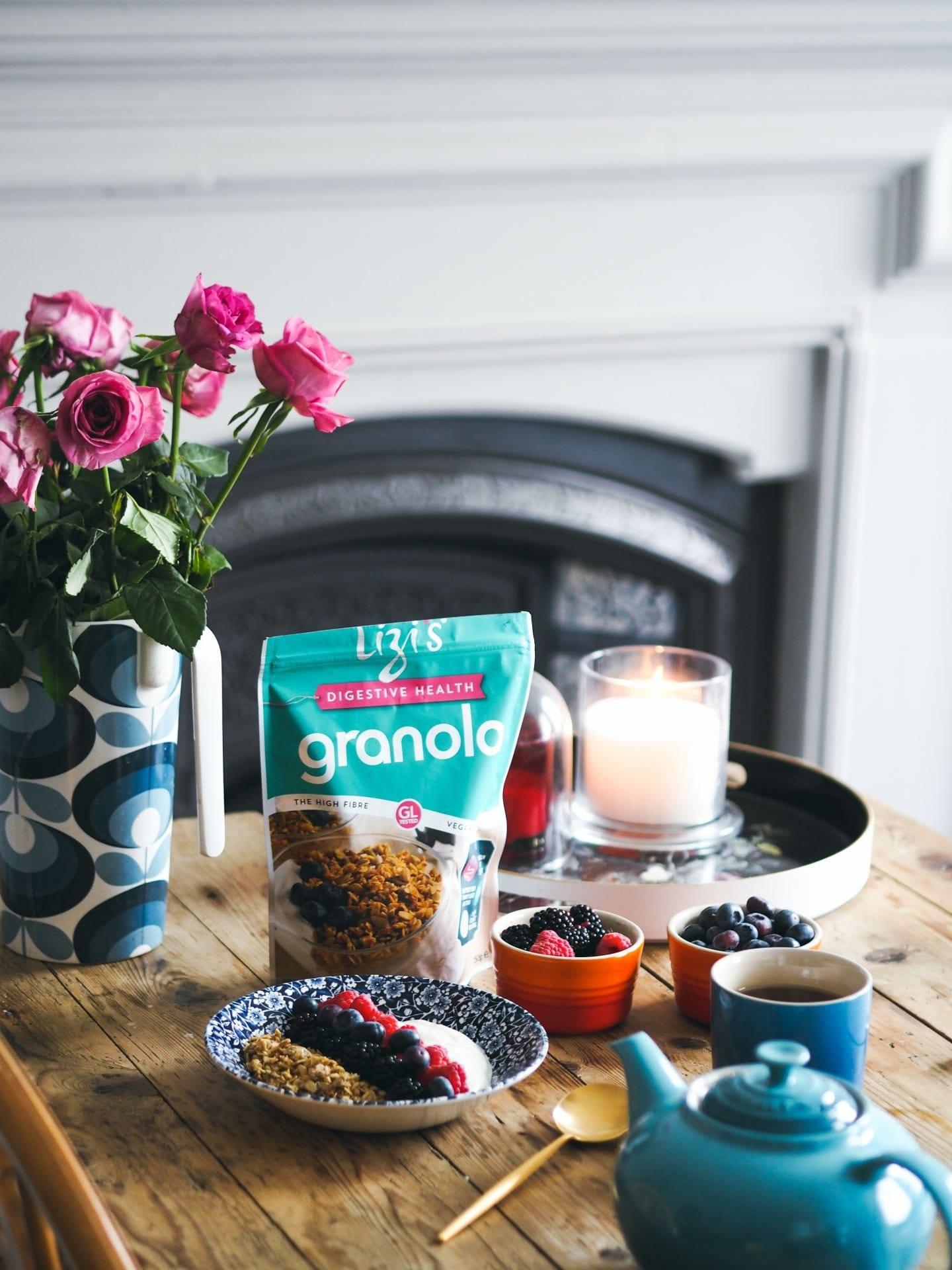 Lizi's Digestive Health Granola fashion for lunch blog