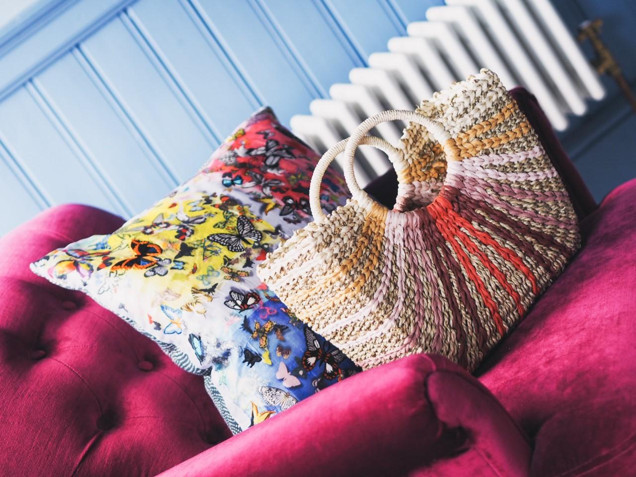 next basket handbag