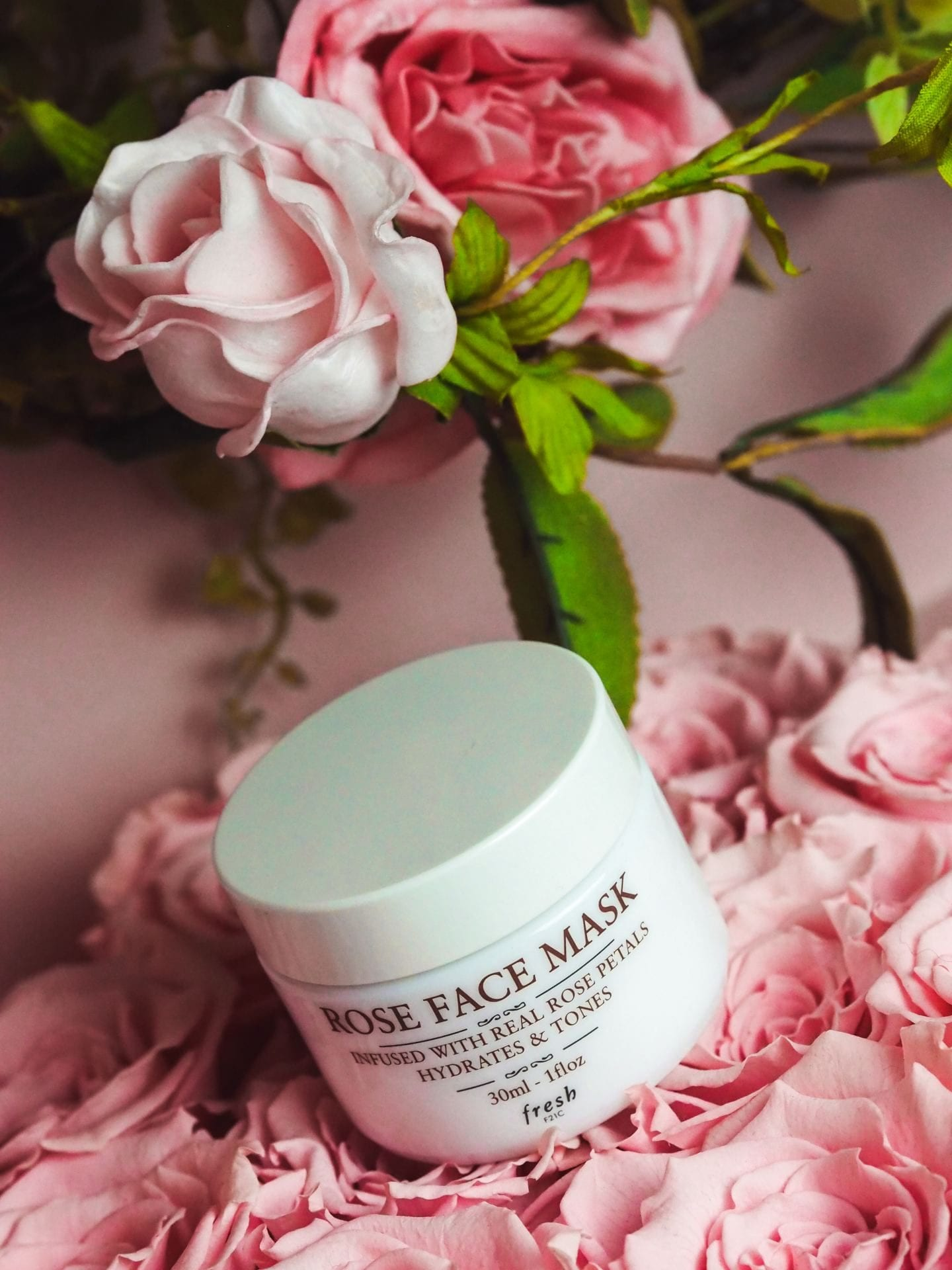 fresh cosmetics rose face mask skin care luxury