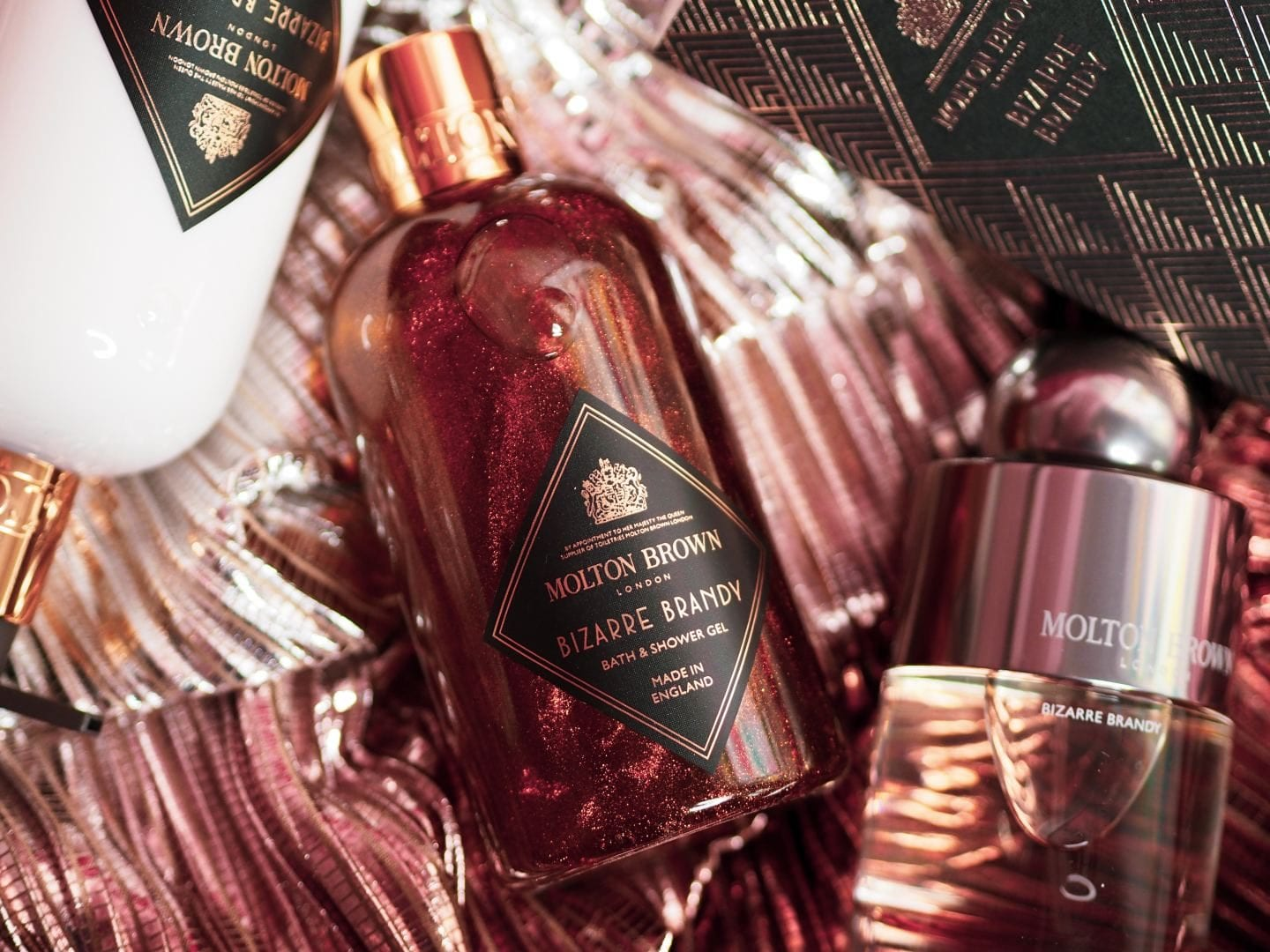 Molton Brown 'Bizarre Brandy' Limited Edition Christmas Collection shower gel