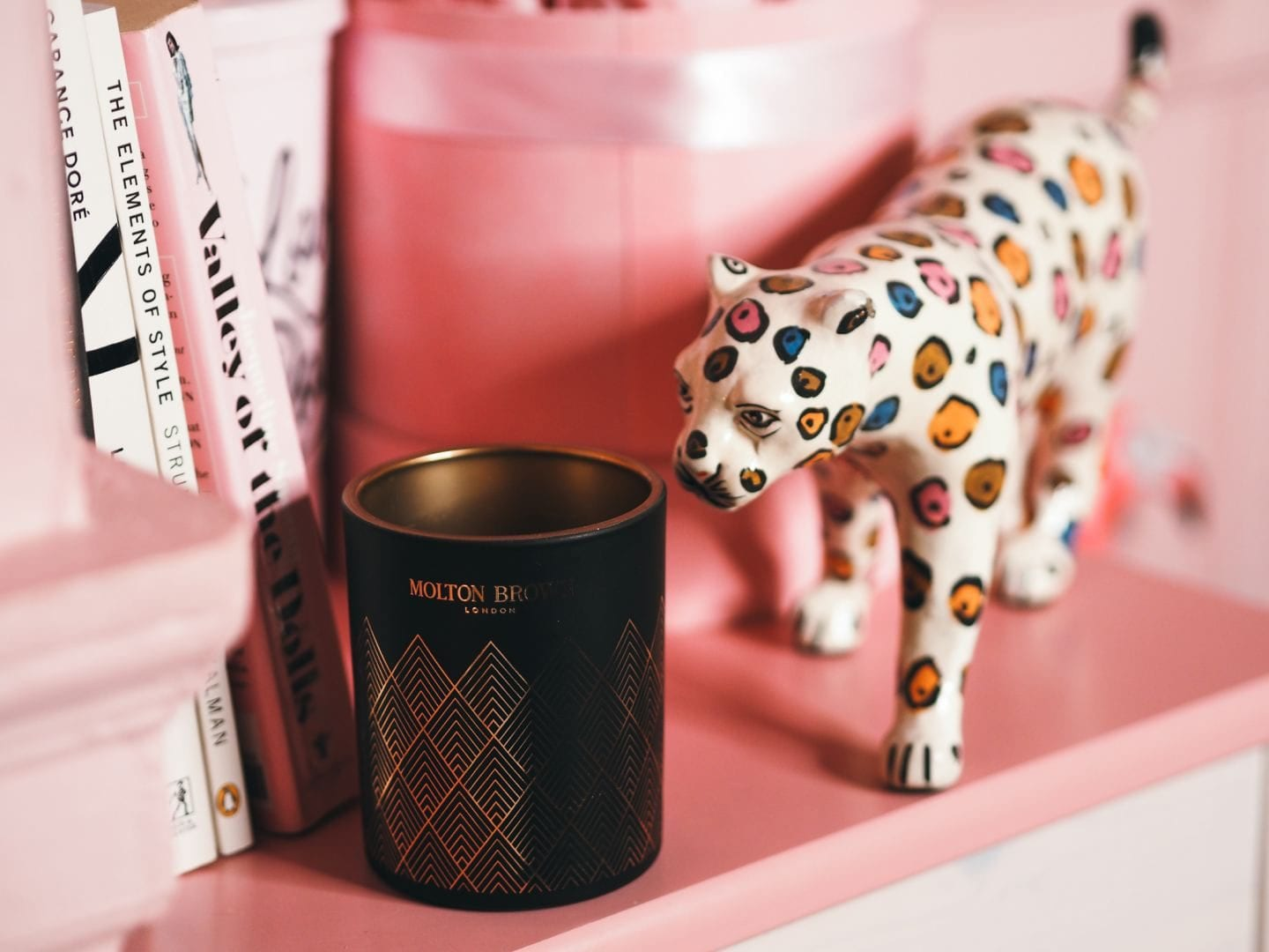 Molton Brown 'Bizarre Brandy' candle limited edition for christmas 2019