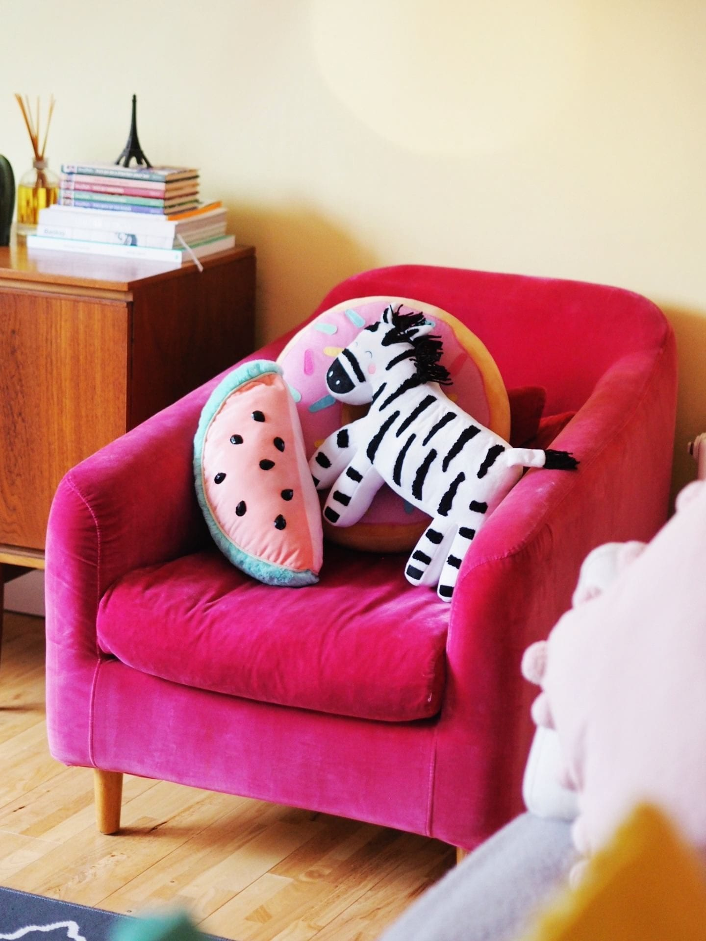 Matalan Zebra Cushion