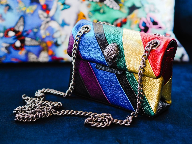 Kurt Geiger Mini Kensington Bag Review rainbow review sale promo code