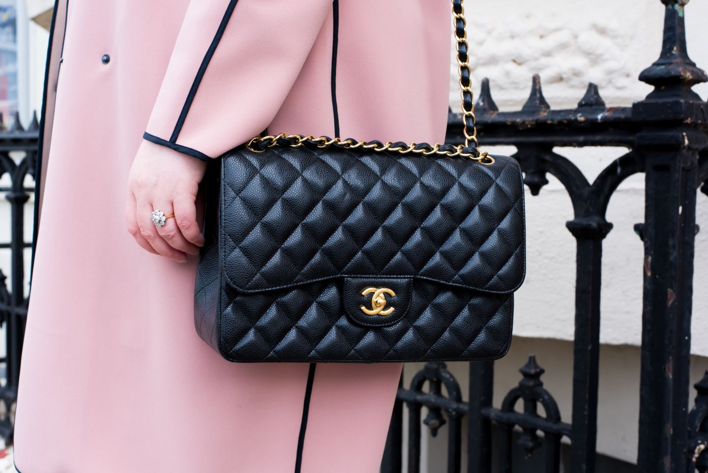What Fits In A Chanel Jumbo Bag? shoulder bag