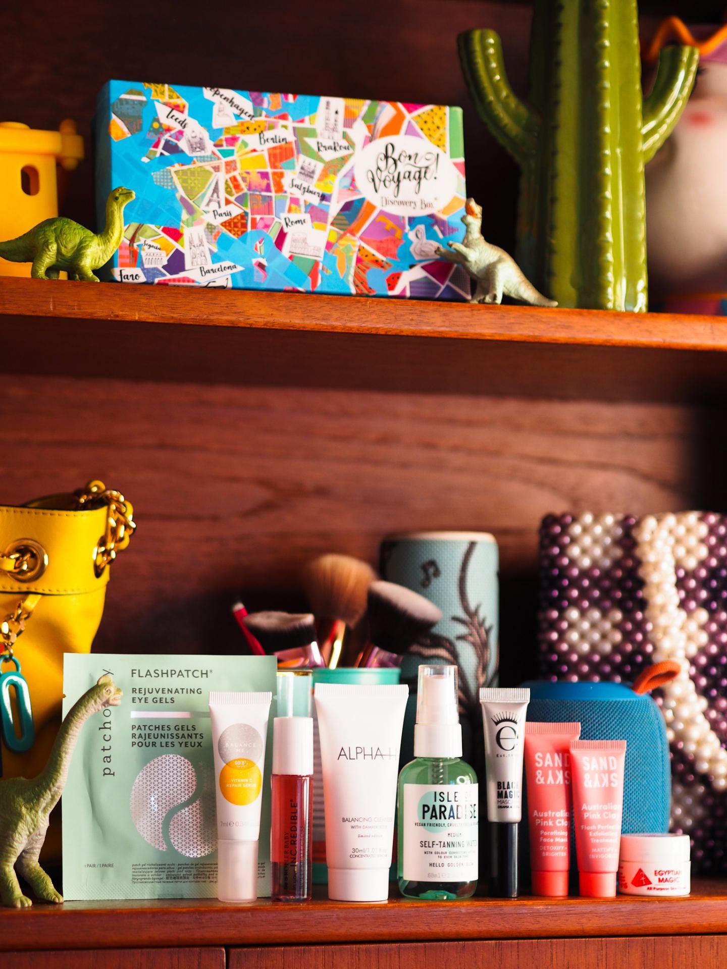 'Bon Voyage' Beauty Box Unboxing