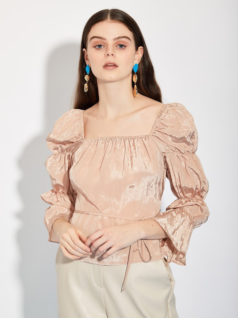 Let's Chat GHOSPELL Fashion Brand & Their Amazing Dresses! top ruffles