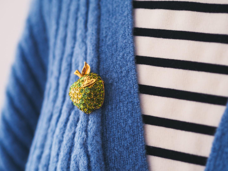 Vivienne westwood apple brooch