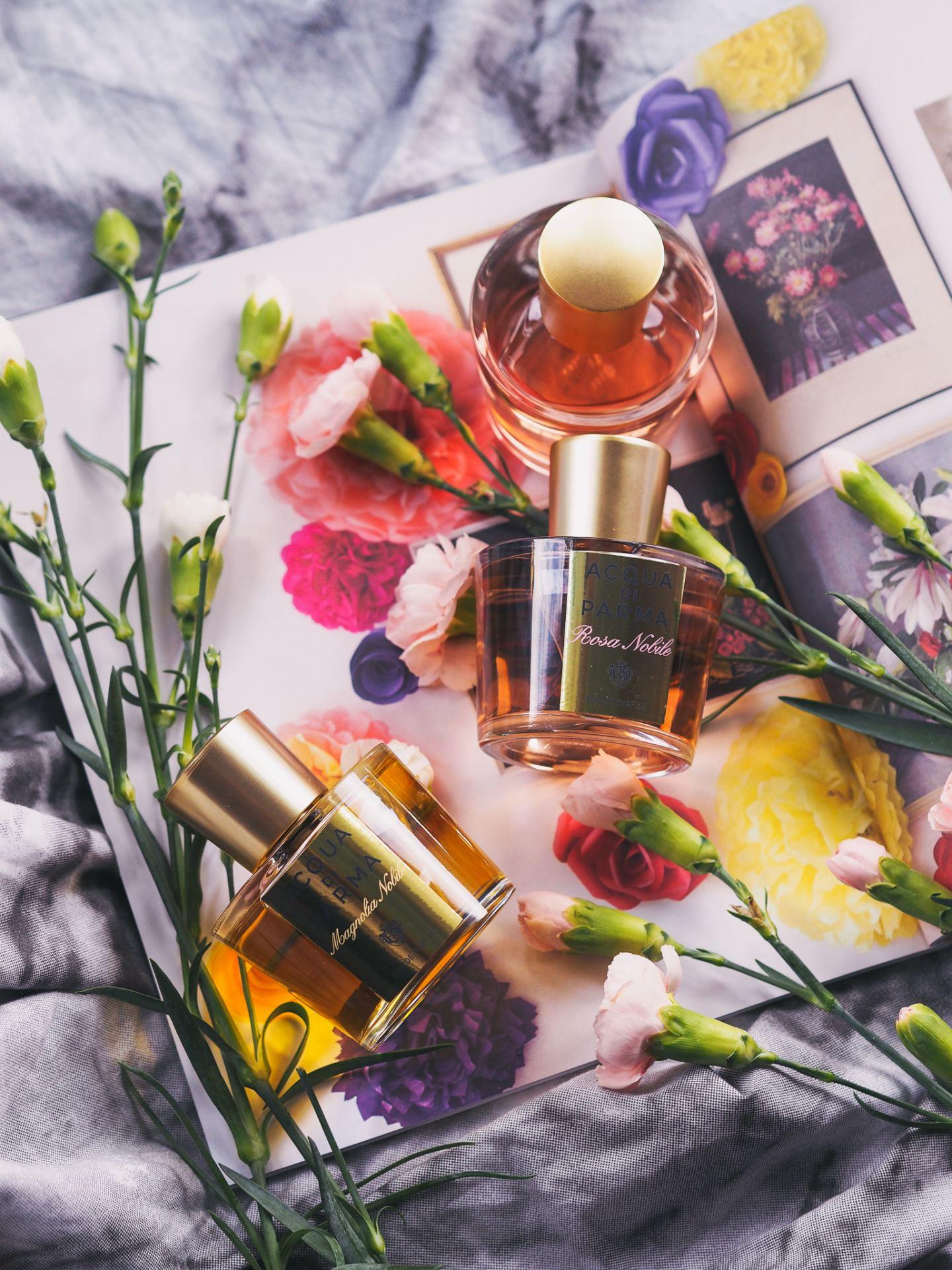 acqua di parma magnolia nobili parfum le nobili collection rosa peonia