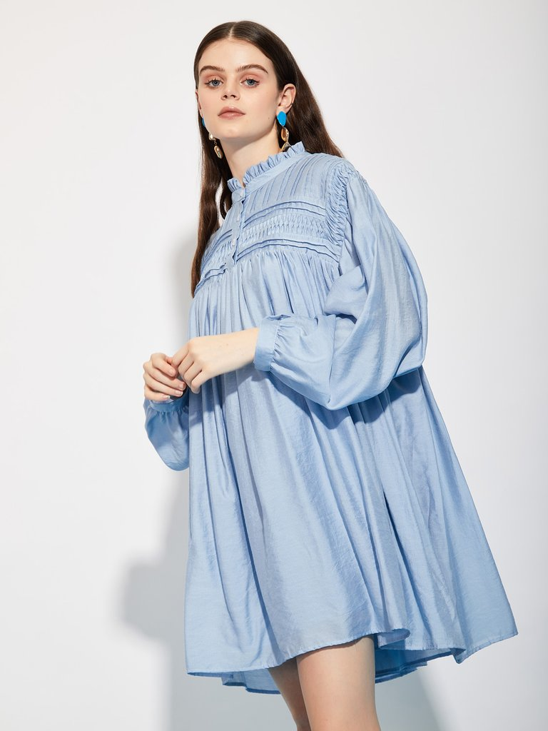 ghospell dress blue swing