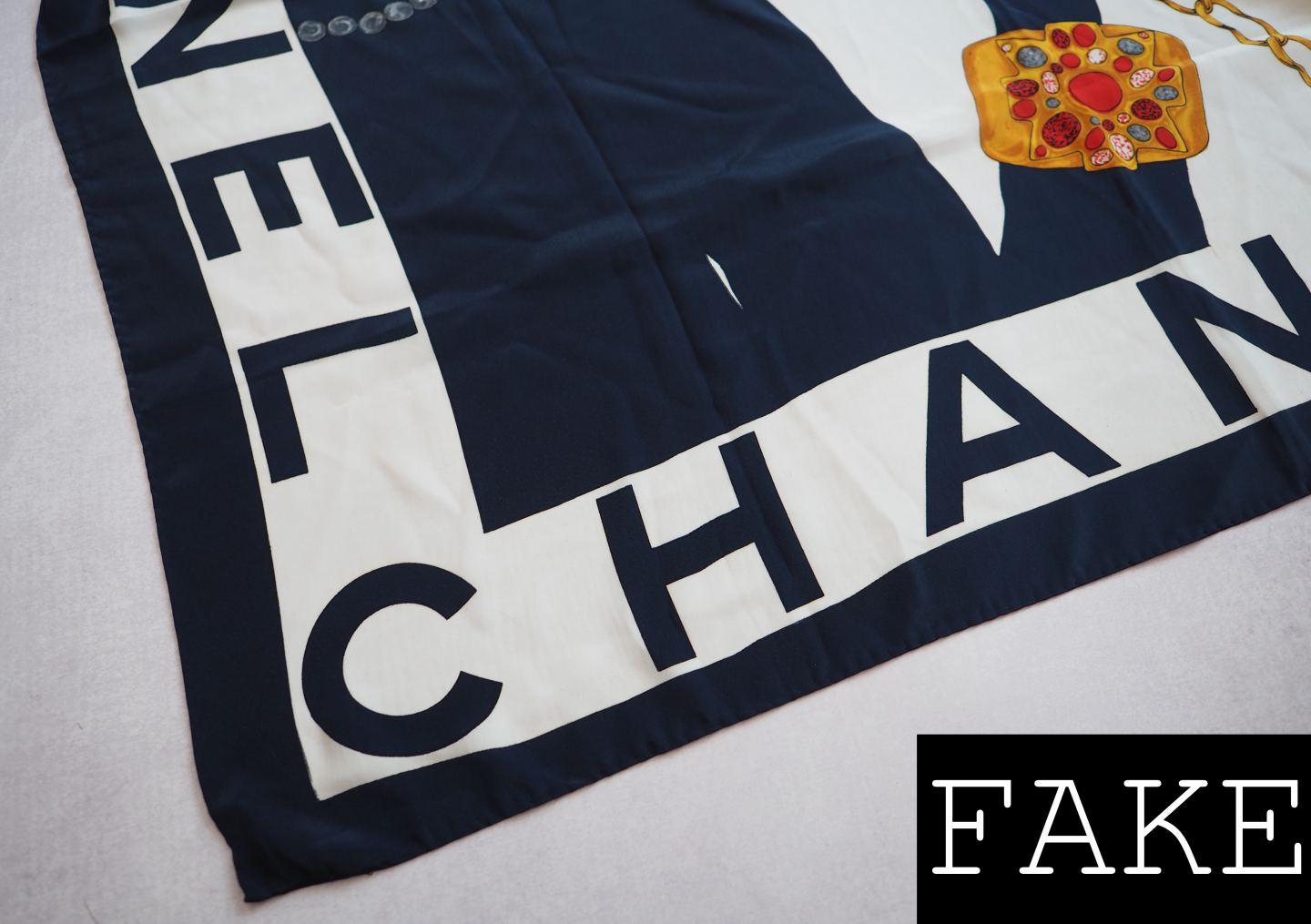 CHANEL SCARF REAL FAKE HOW TO SPOT A FAUX SILK SCARF AUTHENTICATE
