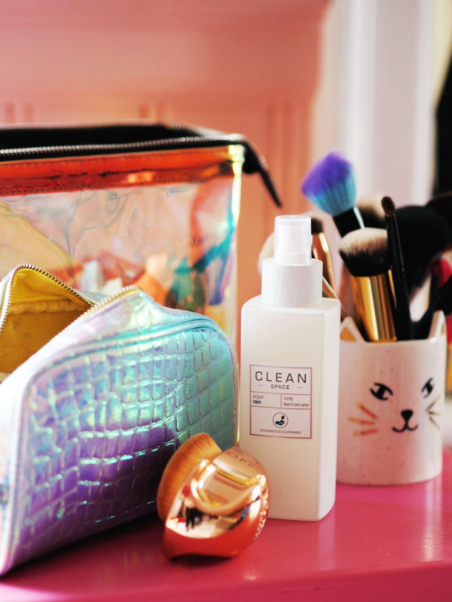 Clean Space Fragrance Mist rain perfume review