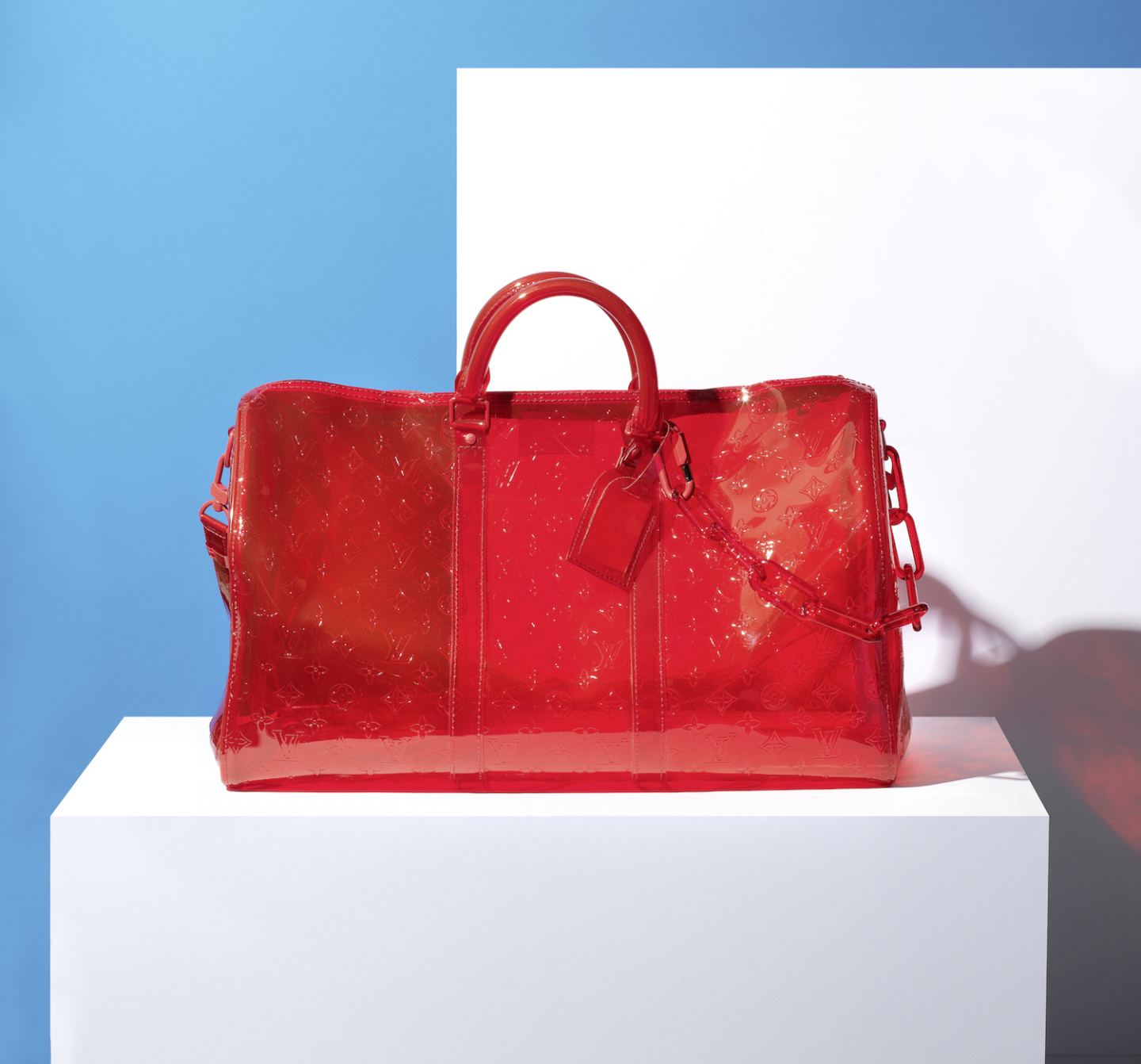 red louis vuitton hold all bag Fashion Auctions
