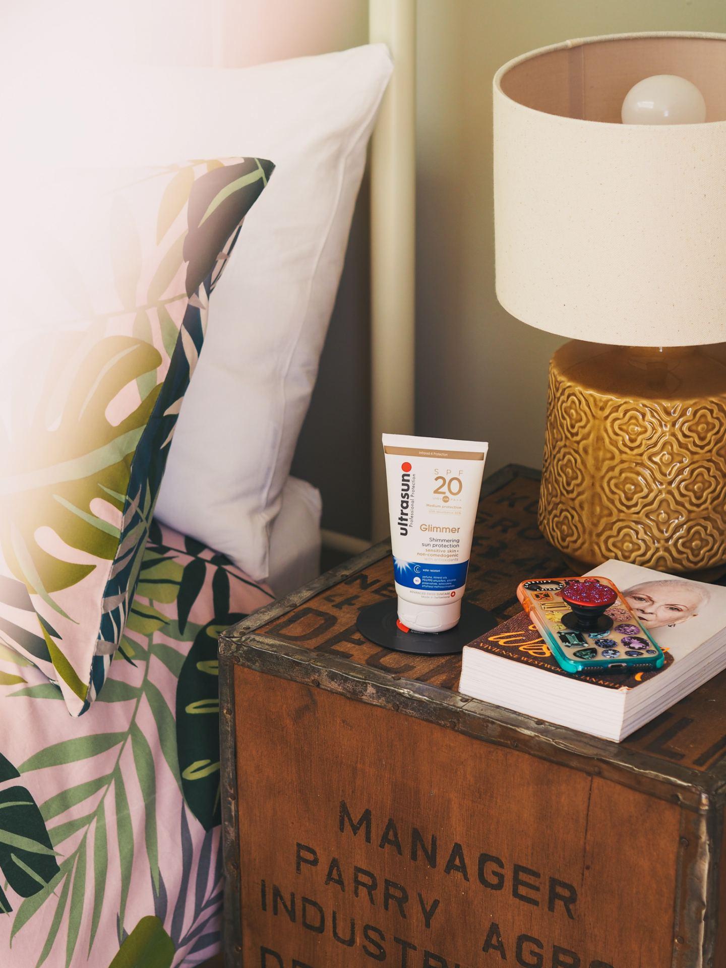 UltraSun Sun Creamspf 20 glimmer cream