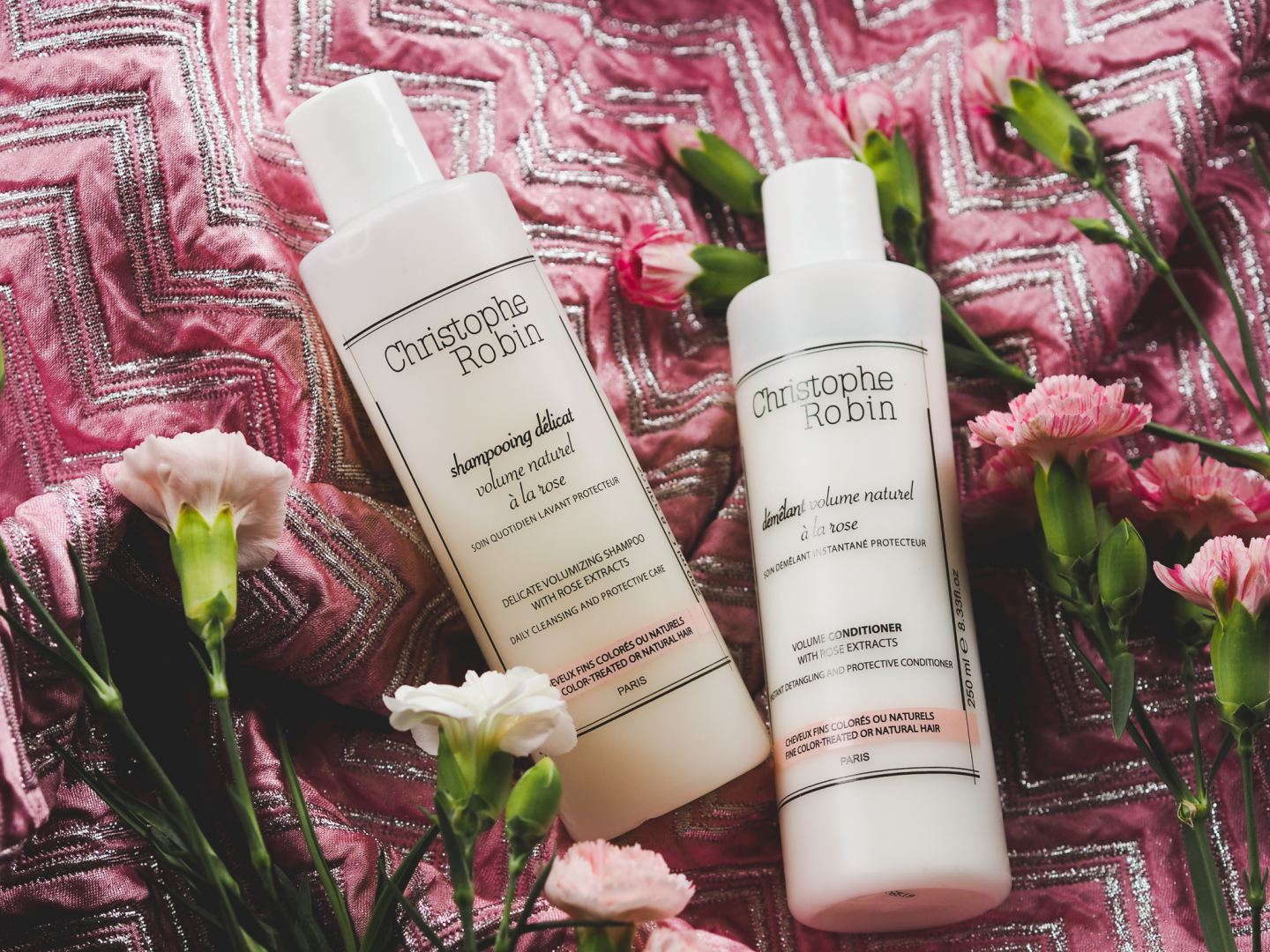 christophe robin rose shampoo conditioner review french hair care