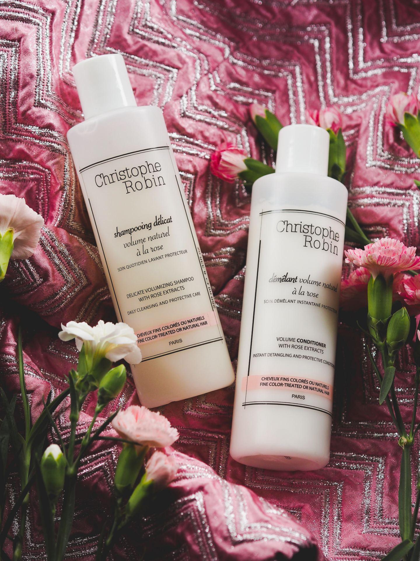 christophe robin rose shampoo conditioner