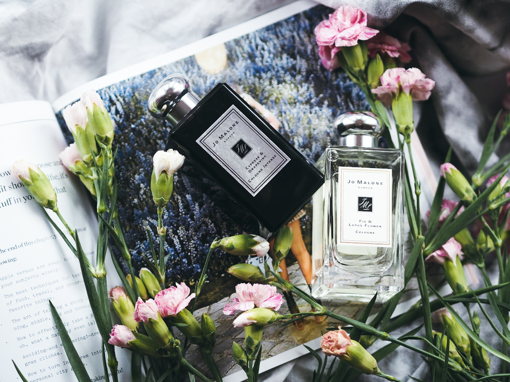 Jo Malone 'Fig & Lotus Flower' & 'Cypress & Grapevine' Review