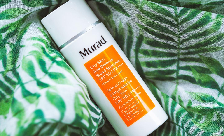 murad city skin age defense broad spectrum review