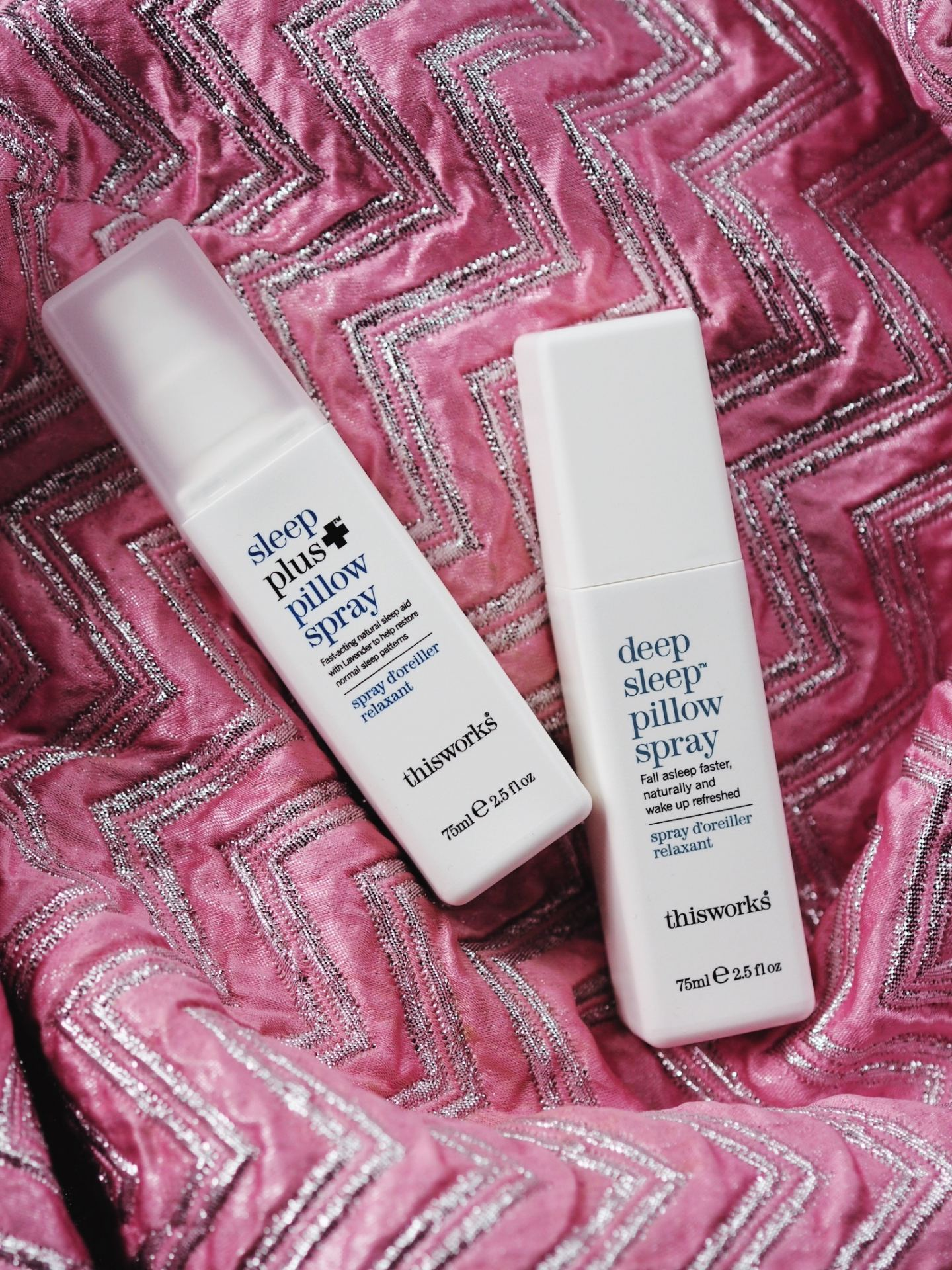 What's The Different Between This Works 'Deep Sleep' & 'Sleep Plus' Pillow Spray?