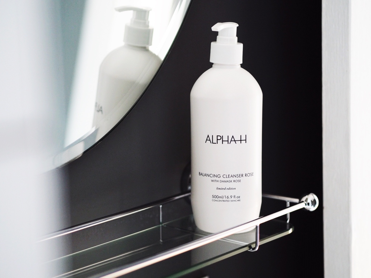 OUT NOW! Alpha H Supersize Rose Balancing Cleanser
