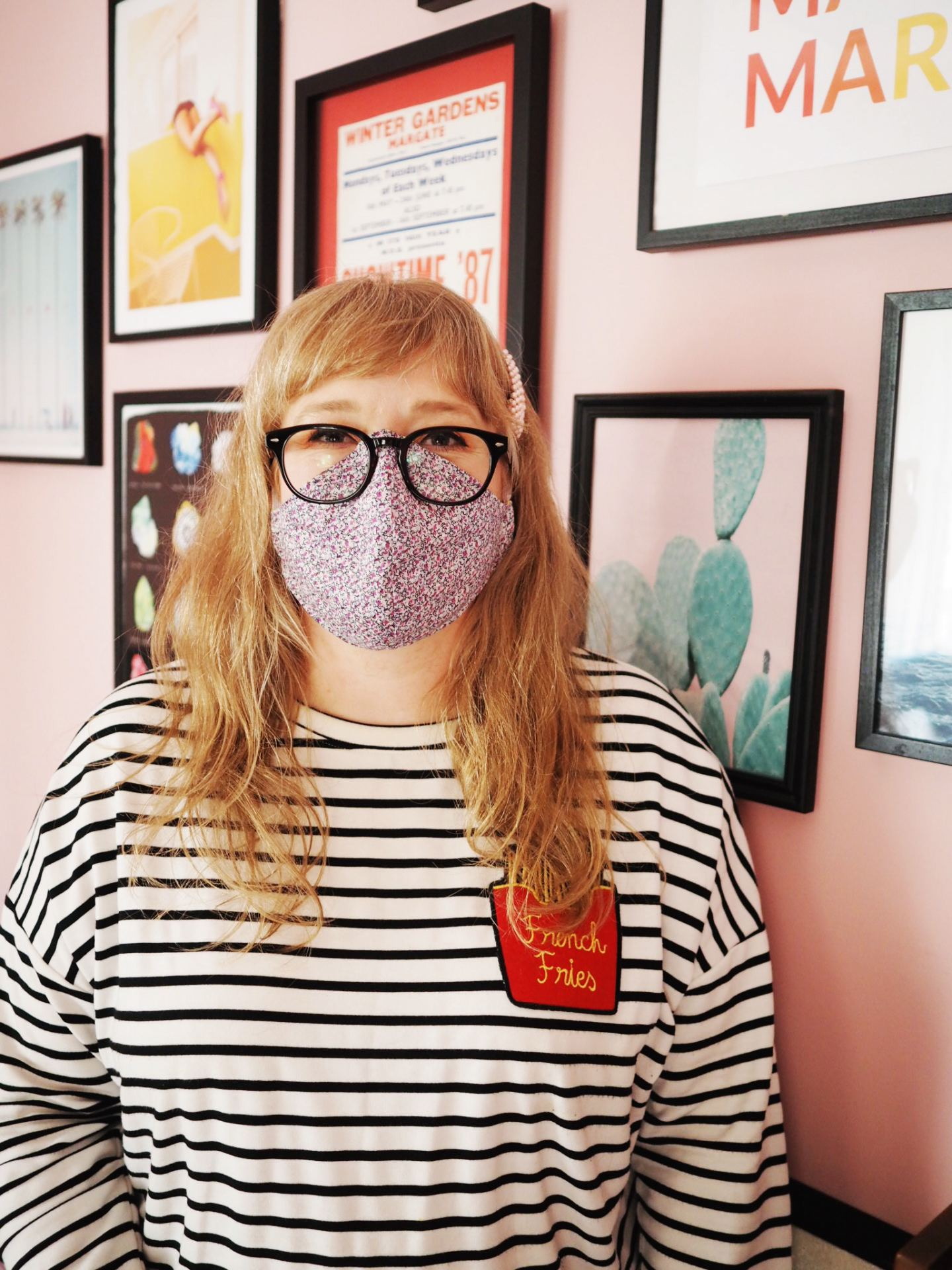 How To Wear A Face Mask & Glasses Without Fogging Up!