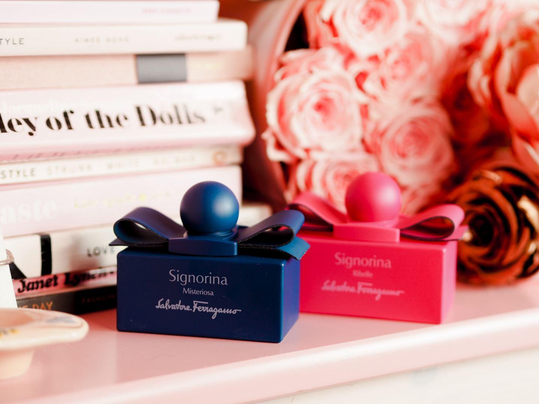 Salvatore Ferragamo 'Signorina' Fashion Editions electric blue perfume