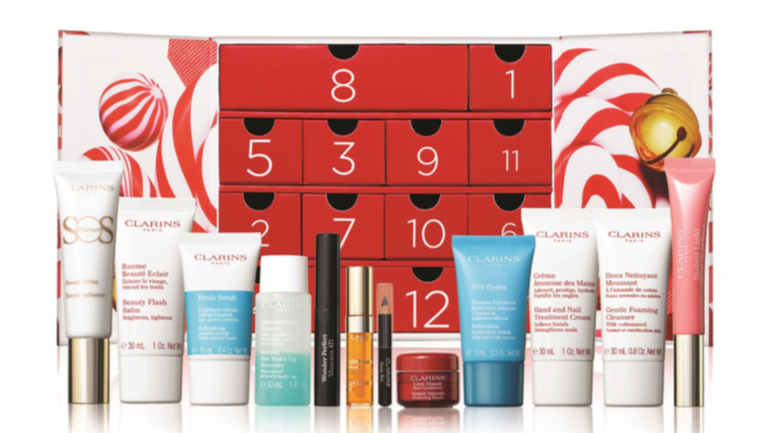 What's Inside The Clarins 12 Days Of Christmas Advent Calendar 2020?