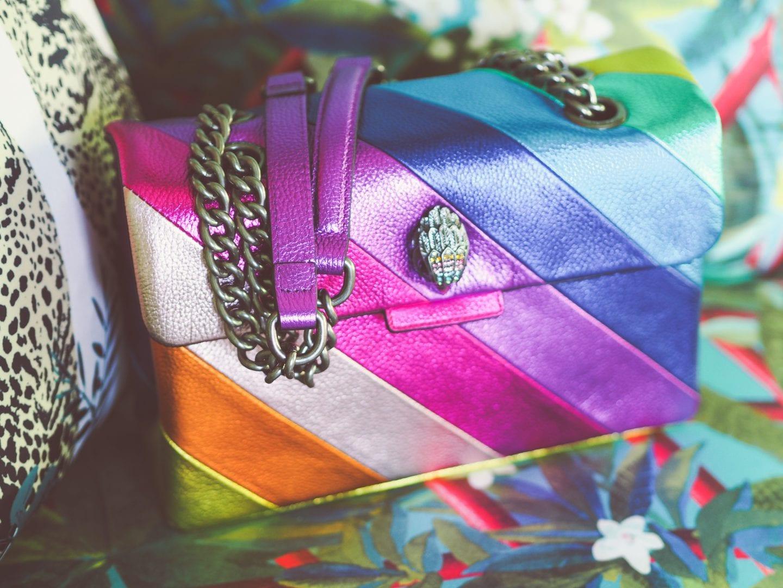 kurt-geiger-rainbow-metallic-bag-shoulder-bag-review