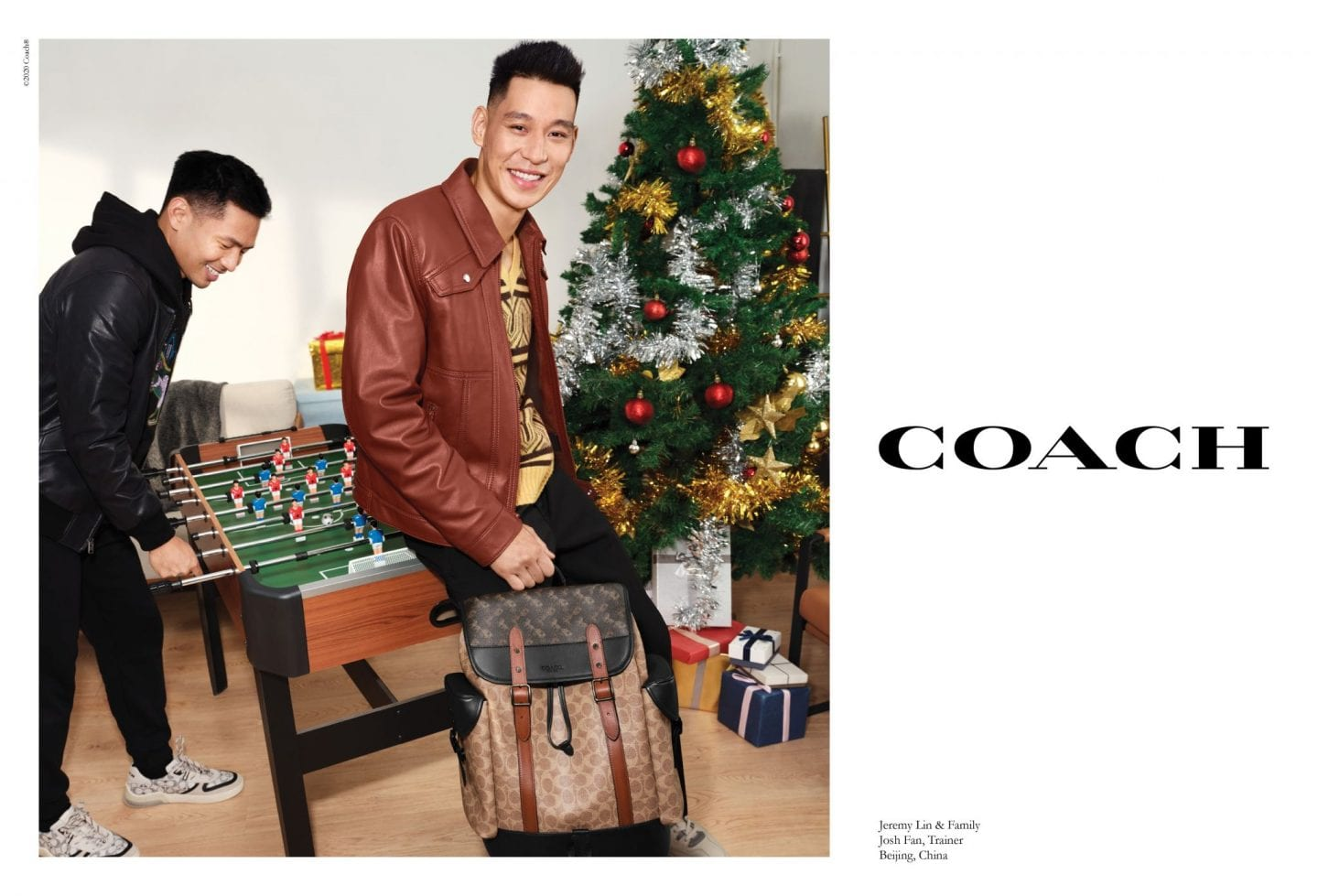 Jeremy Lin_Hitch_coach new york christmas campaign 2020