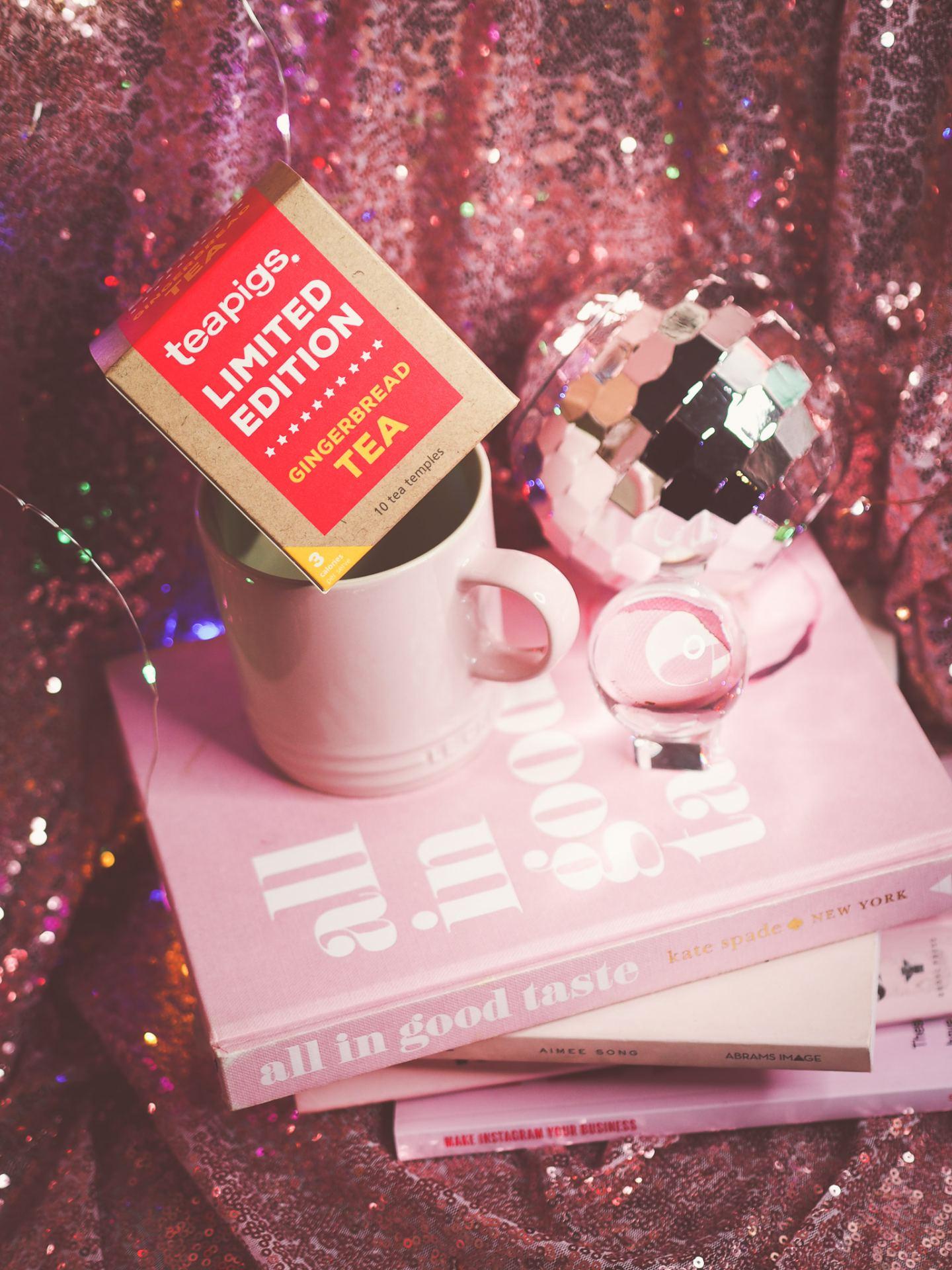 Le Creuset Mug & Teapigs Tea review pink all in good taste Kate spade book