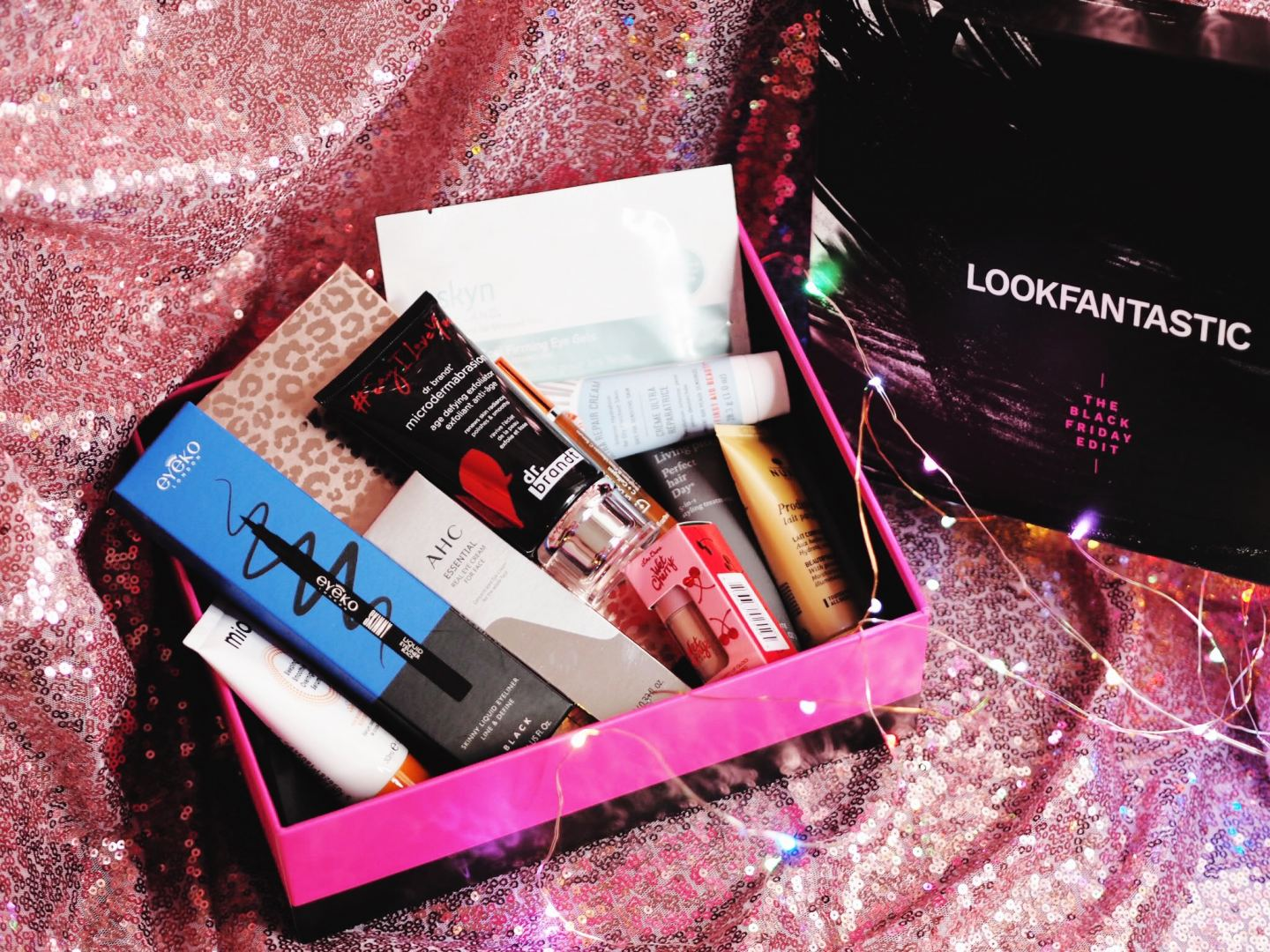 Look Fantastic Black Friday Beauty Box! review