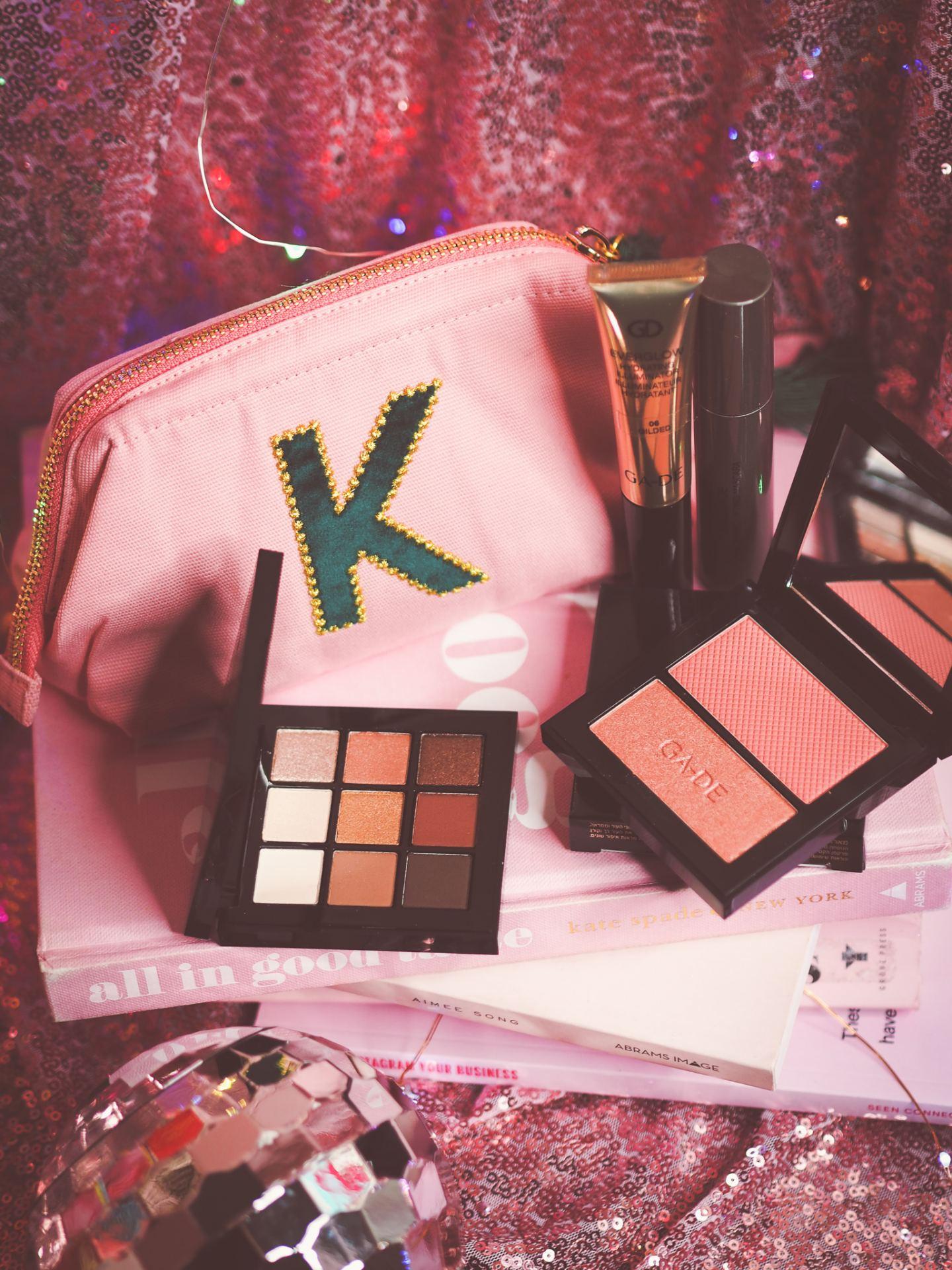 Oliver Bonas Make-up Bag & Make Up Treats
