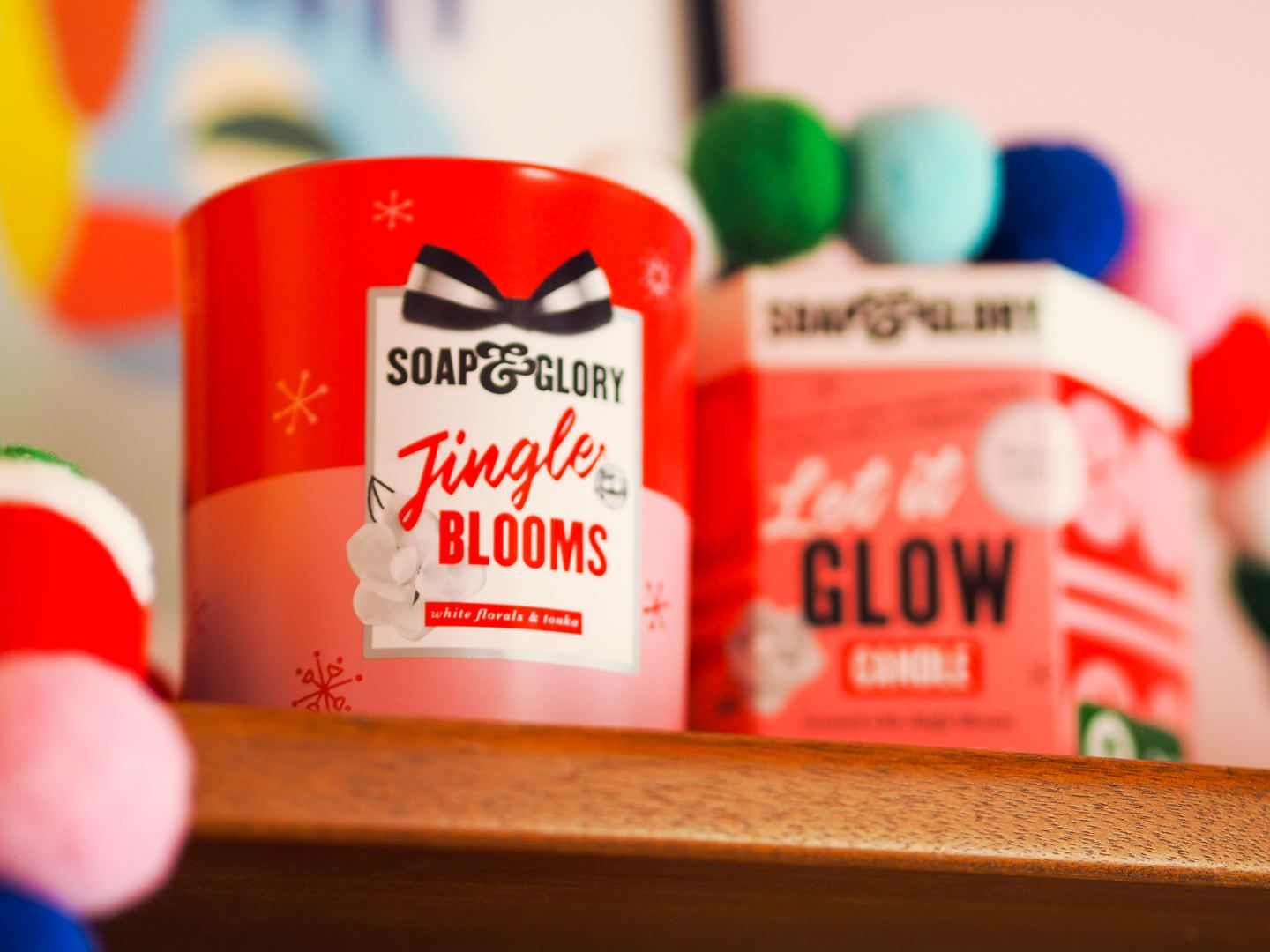 Soap & Glory 'Let It Glow' Candle