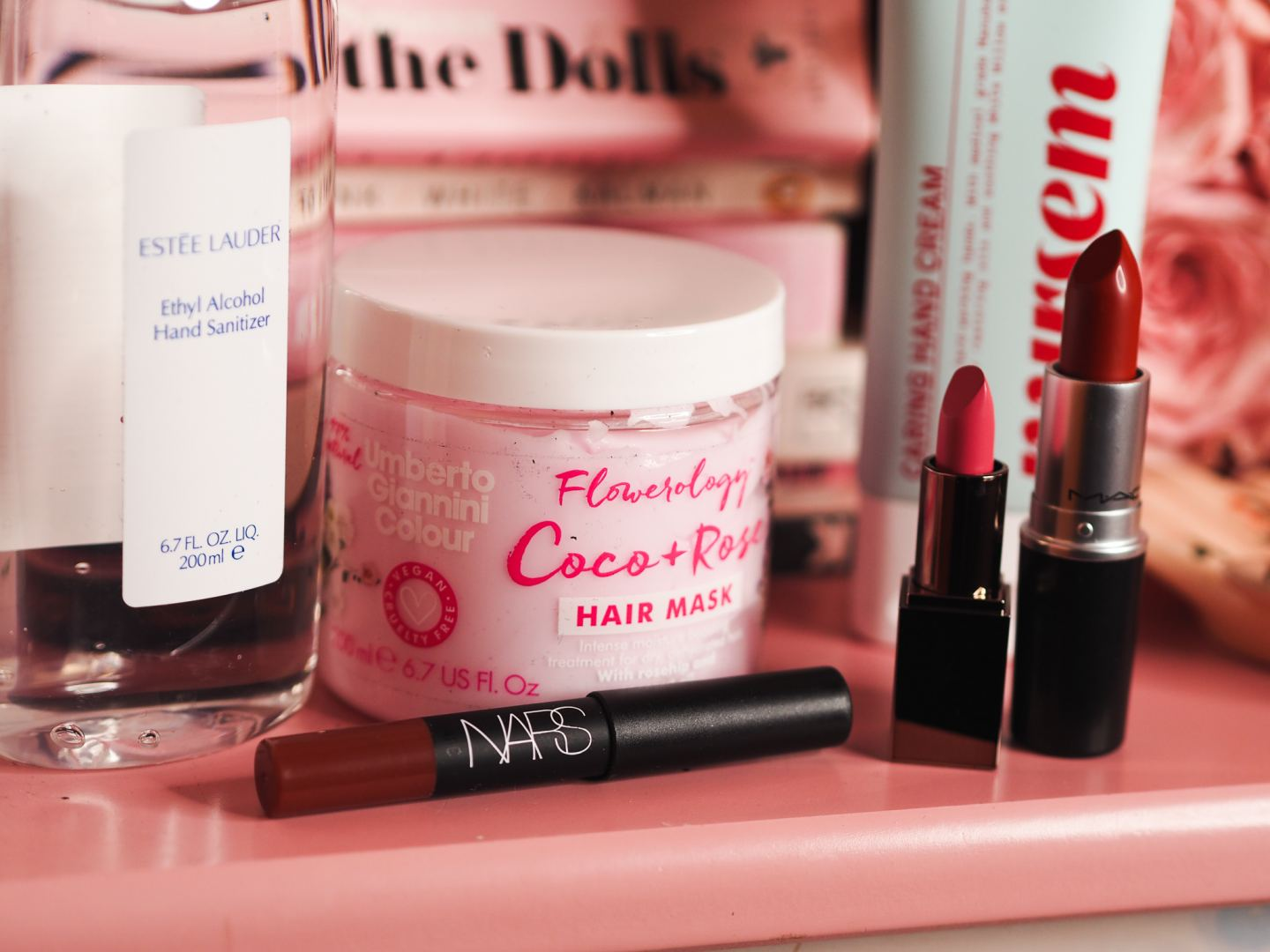 What's Inside My Latest In Beauty review Box! nurseum hand cream mac chilli lipstick nars do me baby