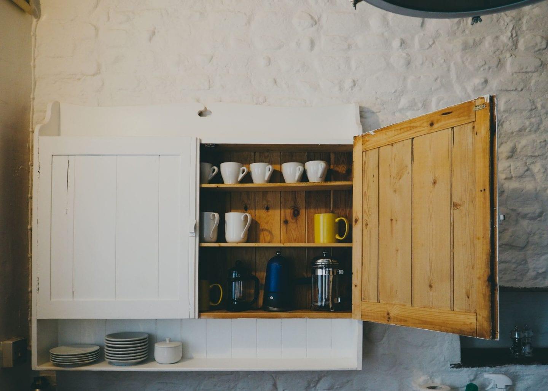english country kitchen white pine painted kitchen
