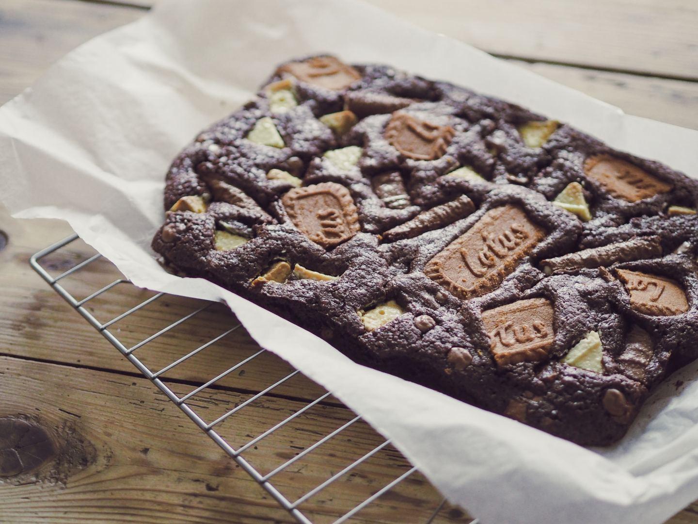 lotus biscuit brownies