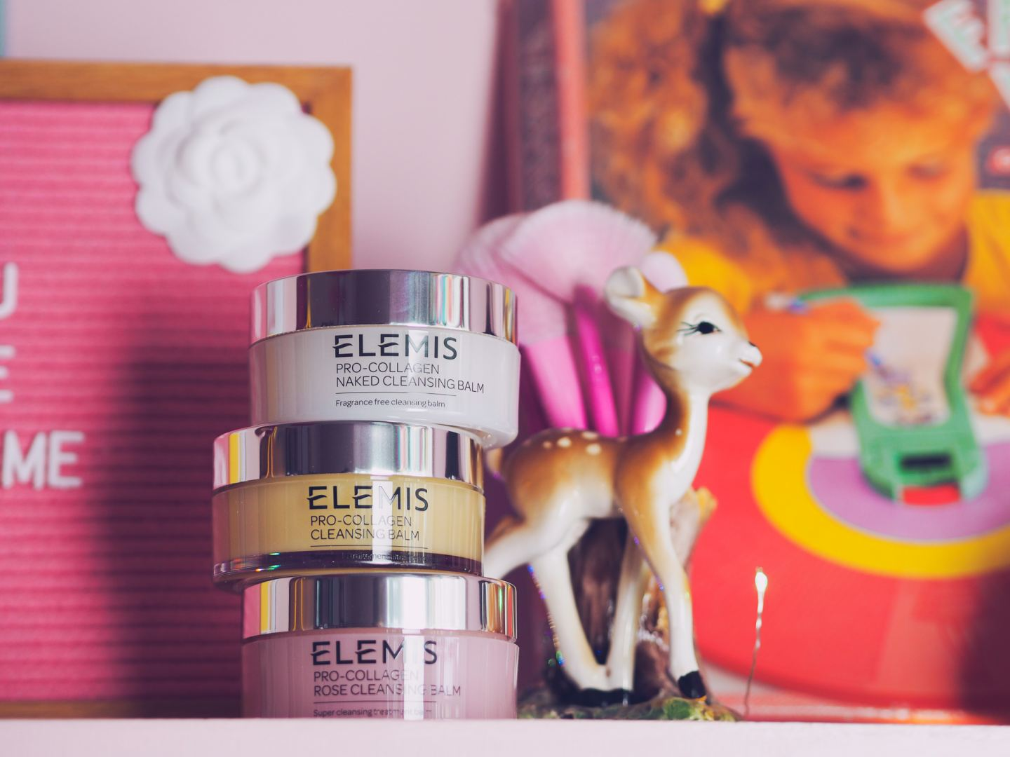 How do you use Elemis Pro Collagen cleansing balm?